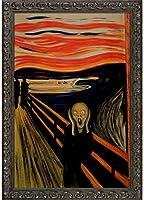 """La Pastiche The Scream Framed Oil Painting, 41"""" x 29"""", Multi"""