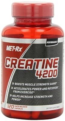 MET-Rx Creatine 4200 Diet Supplement Capsules