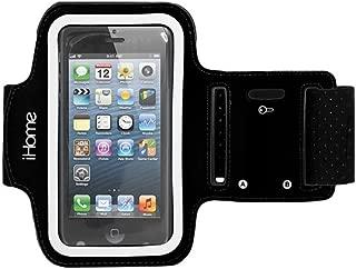iHome Sport Adjustable Armband for Samsung Galaxy S4 - Black