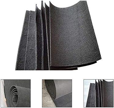 """3mm Graphite Carbon Felt Soft Sheet Furnace Insulation High Temp 48/"""" x 19.7/"""" US"""