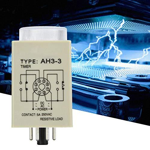 Tijdrelais, 30S 8 pins Vertragingstimer 35 mm DIN-rail voor industriële automatiseringssystemen Mechanische apparatuur Timer 12V / 24V / 110V / 220V (DC24V)