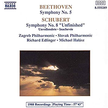 """Beethoven: Symphony No. 5 in C Minor, Op. 67 - Schubert: Symphony No. 8 in B Minor, D. 759 """"Unfinished"""""""