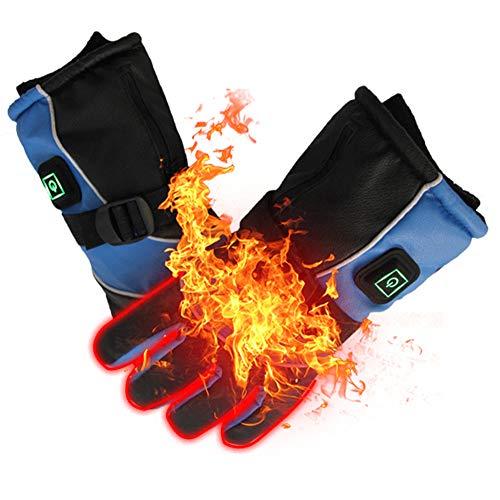 Calentadores de Manos el/éctricos con bater/ía para Mujeres PROSmart Guantes calefactables Hombres esqu/í Deportes al Aire Libre Snowboard