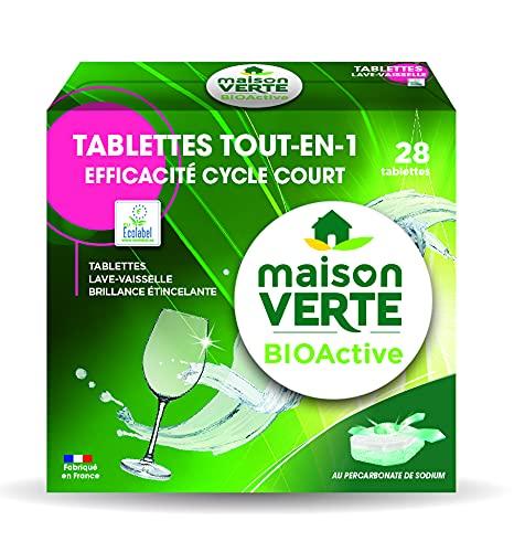 Maison Verte - Lavavajillas con pastillas BioActive
