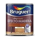 BRUGUER Esmalte Efecto Madera MADERFIN OSC. 750 ML, Nogal Oscuro