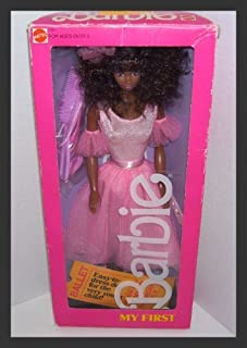 My First Barbie African American 1986 #1801 by Mattel