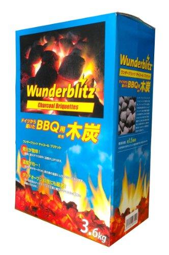 Wunderblitz(ワンダーブリッツ) BBQ用木炭 チャコールブリケット