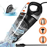 Car Vacuum,LOZAYI Corded Car Vacuum Cleaner High Power 5000PA Wet/Dry Portable...