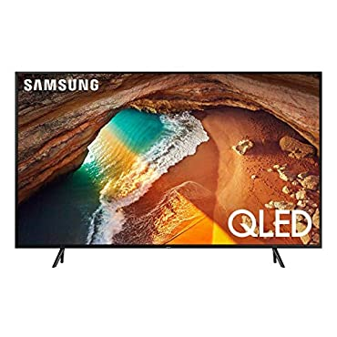 "Samsung QN65Q60RAFXZA Flat 65"" QLED 4K Q60 Series Ultra HD Smart TV with HDR and Alexa Compatibility (2019 Model)"