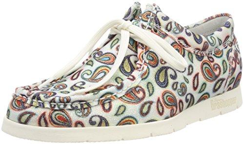 Sioux Damen Grash-d172-29 Sneaker, Mehrfarbig (Offwhite-Multi), 38 EU (5 UK)