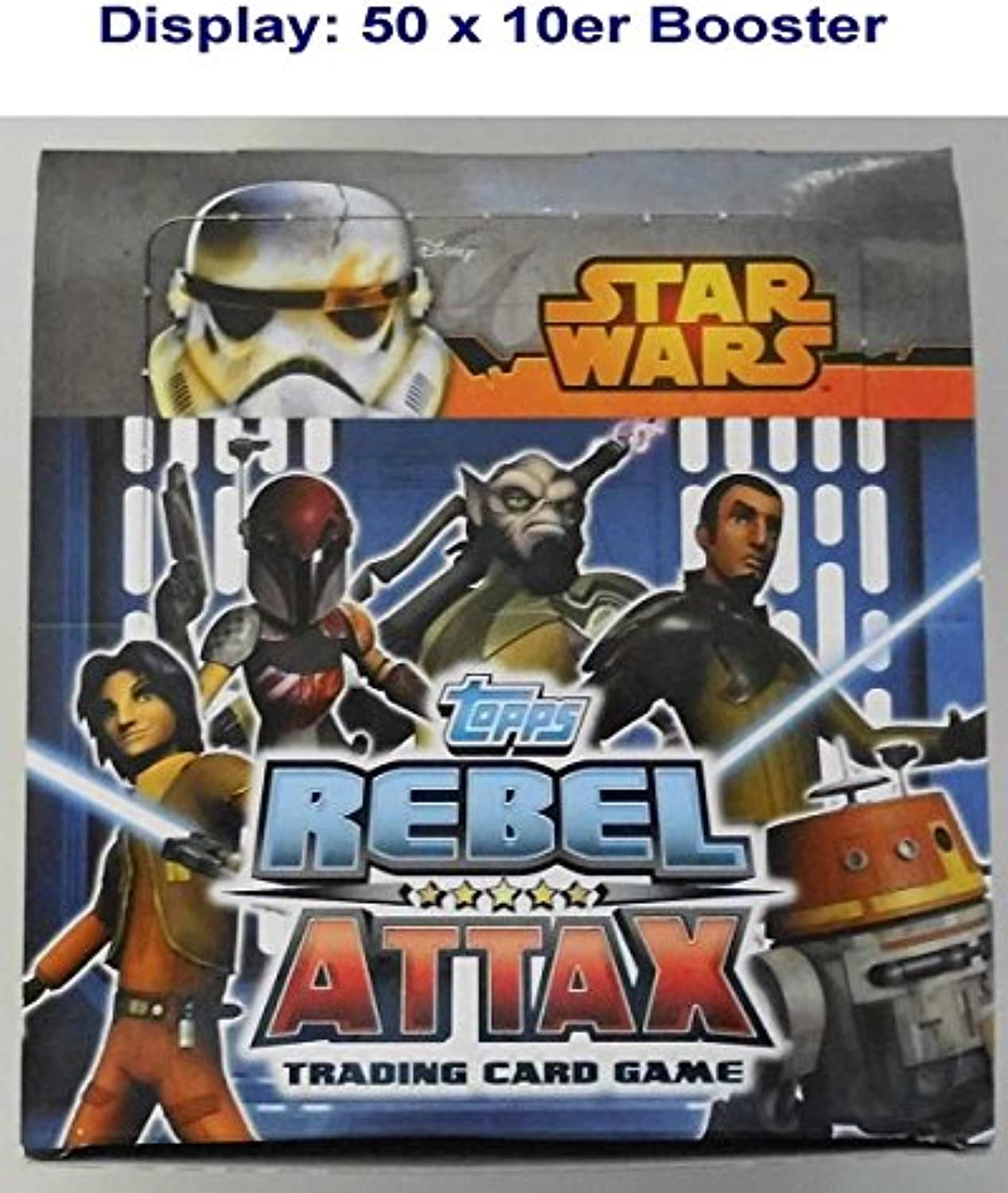 SW Rebels Attax 1 Booster(10Karten Pac