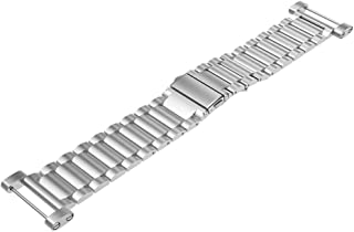 NICERIO Stainless Steel Watch Strap Expansion Band Watch Band Replacement Metal Watch Strap Watch Wristband Compatible for...