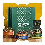 Chaayos Green Tea Gift Box | Perfect Diwali Gifts for Family and Friends | Immunity Boosting Green Teas & Infuser | Gift of Health | Diwali Gift Set | Green Tea | Gift Hamper | Diwali Gift Items