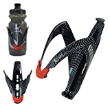 VeloChampion FibreCarbon Bike Water Bottle Cage with Carbon Fibre Look