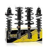 OREDY Struts Full Set 4PCS Front Rear Shocks Struts 172114 172115 171373 Complete Struts Assembly...