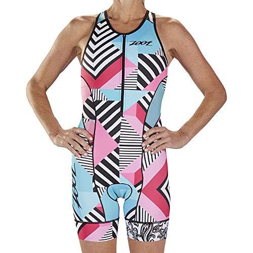 Zoot Conception d'un Costume de Course de Triathlon Cali sans Manches, éléments réfléchissants, SPF 50+, Deux Poches arrière et Une Fermeture éclair de 15 cm sur Le Devant Taille XL