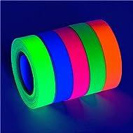 "Glow King Glow Party Blacklight Tape - Blacklight Reactive Glow Tape - UV Reactive Black Light Tape - Ultimate Blacklight Decor - .5"" x 18'"