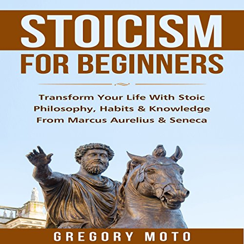 Stoicism for Beginners audiobook cover art