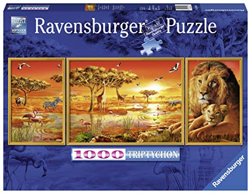 Ravensburger 19836, African Impressions Puzzle