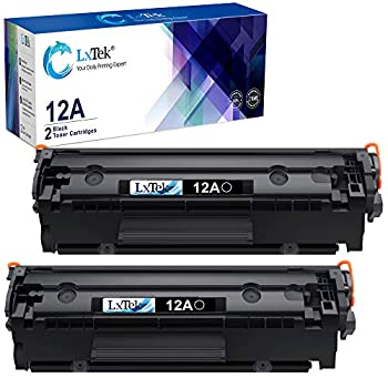 LxTek Compatible Toner Cartridge Replacement for HP 12A Q2612A to use with Laserjet 1012 1022 1020 1018 1022N 1010 3015 3050 3030 3052 3055 M1319F Printers  2 Black High Yield