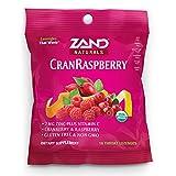 Zand Organic Herbal Lozenge Cranberry Raspberry, 1 Bag