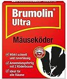 PROTECT HOME Brumolin Ultra Doppelpack anwendugsfertiger Mäuseköder inklusive Köderbox zur effektiven Mäusebekämpfung, 2 Stück