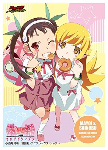 Chara Sleeve Collection Matt Série & lt; histoire & gt; Series Second Season Hachikuji Mayoi & Oshino Shinobu (No.MT046)