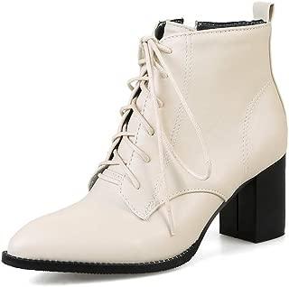 BalaMasa Womens ABS13901 Pu Boots