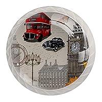 引き出しハンドルプル ホームキッチンドレッサーワードローブ用-ロンドンのポスター