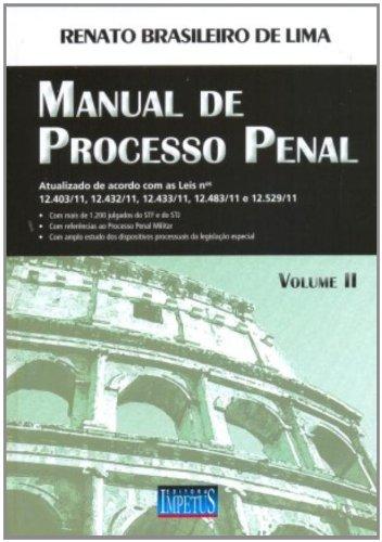 Manual De Processo Penal - Volume 2