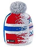 Unisex Winter Cappello Invernale di Lana Berretto Beanie Hat Pera Jersey Sci Snowboard di Moda (Nordic 44)