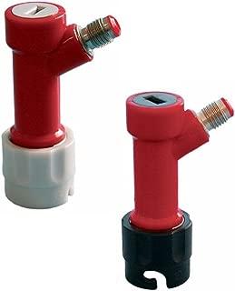 PERA Pin Lock MFL Gas&Liquid Quick Beer keg Disconnects set