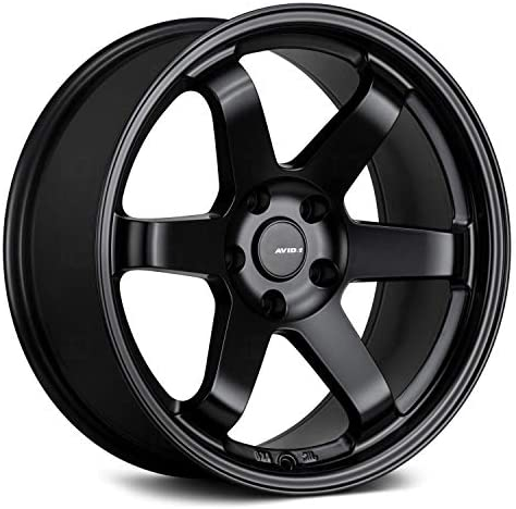 AVID 1 AV 06 Custom Wheel 18x8 35 Offset 5x114 3 Bolt Pattern 73 1mm Hub Black Rim product image