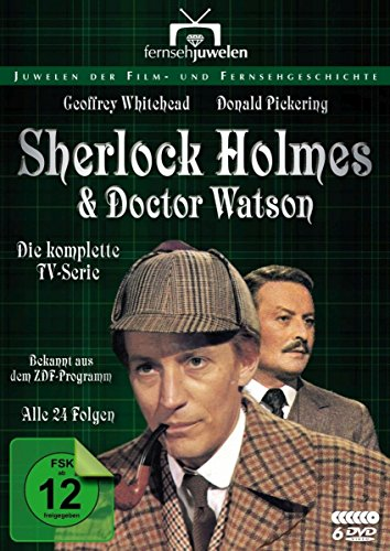 Sherlock Holmes und Dr. Watson - Komplettbox (Alle 24 Folgen) - Fernsehjuwelen [4 DVDs]