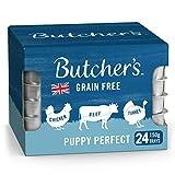 BUTCHER'S Puppy Wet Dog Food Trays Grain Free 3.6kg (24 x 150g)