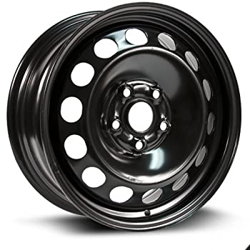 RTX Steel Rim New Aftermarket Wheel 16X6.5 5X112 57.1 50 black finish X99127N