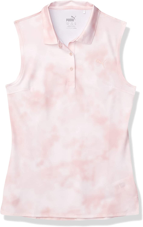 PUMA 40% OFF Cheap Sale Girl's Golf NEW 2020 Sleeveless Dye Tie Polo