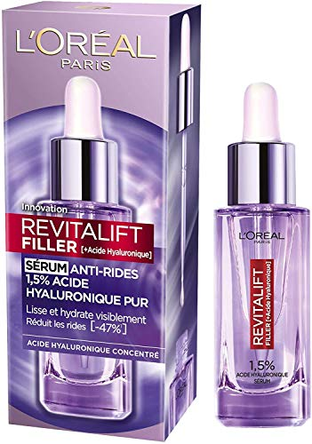 L Oréal Paris - Revitalift Filler - Sérum Anti-Rides - À l Acide Hyaluronique Pur - 30 ml