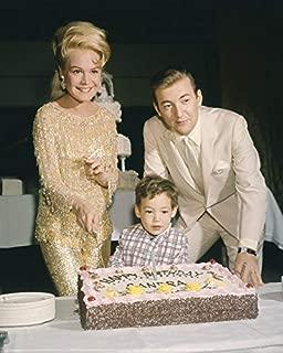 Bobby Darin and Sandra Dee Birthday Party with Cake 16x20 Canvas