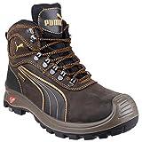 Puma Safety Sierra Nevada Mid - Chaussures Montantes de sécurité - Homme (44 EUR) (Marron)