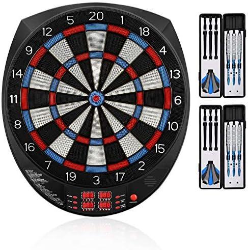 Biange Electronic Dart Board 15 5 Digital Dartboards Set Soft Tip Regulation Sized 27 Games product image