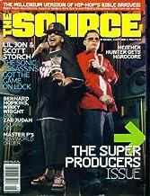 The Source Hip Hop Magazine Issue #190 Aug 2005 Lil Jon & Scott Storch