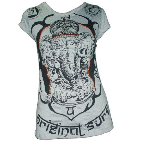 Sure Ganesh Sure T-shirt, Bangkok subculture brand, van heel freshrunk katoen, in S, M en L, vintage stijl!