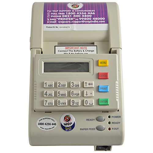 WEP BP-20 Standalone Billing Machine (White)