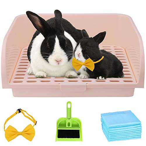 Humorous.P Large Rabbit Litter Box - Pet Corner Litter Box Ware...
