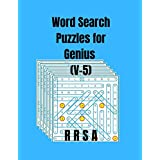 Word Search Puzzles for Genius (V-5)