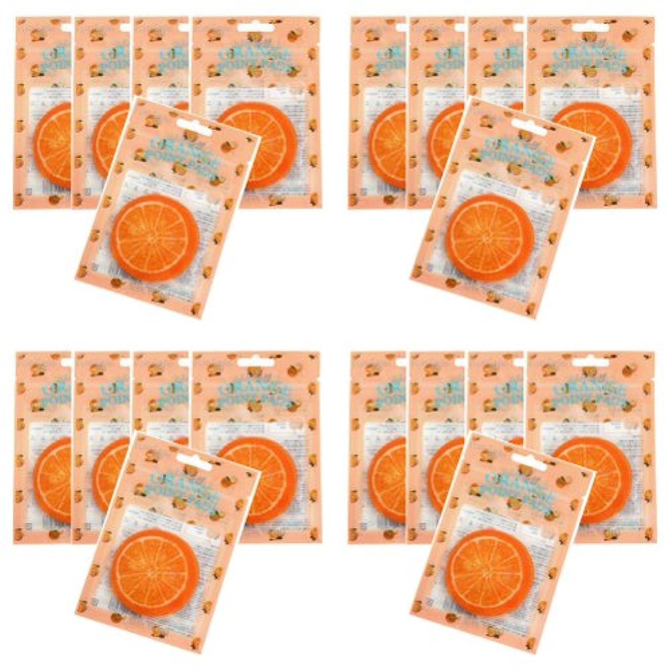 パンチ服を洗うアルミニウムピュアスマイル ジューシーポイントパッド オレンジ20パックセット(1パック10枚入 合計200枚)