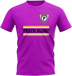 Airosportswear Perth Glory Core Football Club T-Shirt (Purple)