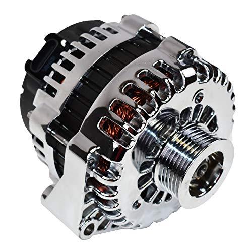 chrome alternator for car - 2