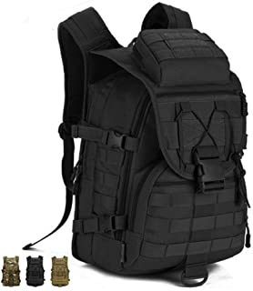Tac Threads Outdoor 40L Military Tactical Backpack Army Rucksack Molle Backpack Bug Out Assault Bag Hunting Heavy Duty EDC Survival Bag